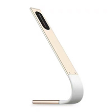 Cordless Eye Friendly LED Desk Lamp, USB Rechargeable, Touch Control, 6 Brightness Levels, 4 Light Modes, golden