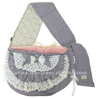Cute corm stripe dog carrier bag for dog product