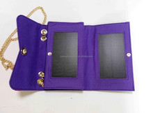 Hot selling mini /smal PV solar panel charge bag solar charge backpack price