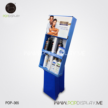 Advertising Display Units Point Of Sale For Body Wash Paper Pallet Cardboard Supermarket Rack