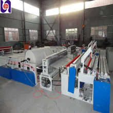 new design paper winding machine with embossing roller and roll cutter for sale