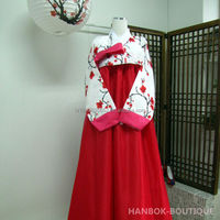 Feel-Korea / Korean Traditional Hanbok for Women Custom Made Korean Hanbok Dress