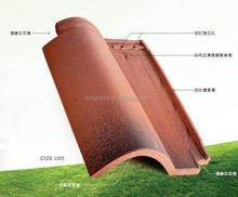 Real Estate Materials Importing clay ceramic Roof Tiles Malaysia For Sale
