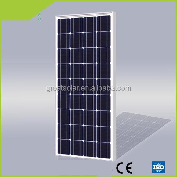 110w Mono Solar Panel with CE, ISO,TUV Certificate and High Efficiency for Water Pumping System!