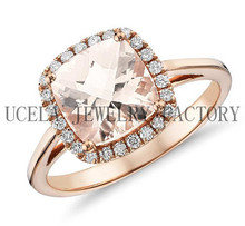 Hot sale charm fashion hand carved crystal palladium wedding rings