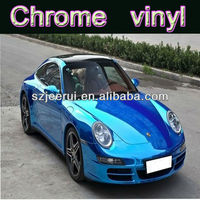 Excellent Quality Stretchable Chrome Mirror Vinyl Film,Bubble Free Car Cover Sticker,Vehicle Full Wraps Carbon Vinyl 1.52X30M