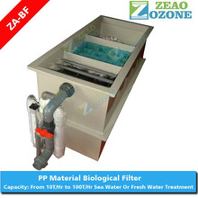 Fish pond recirculation water aquaculture bio filter for ras system