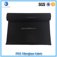 best selling high quality PTFE fabric teflon coated fiberglass cloth for waterproofing with competitive price