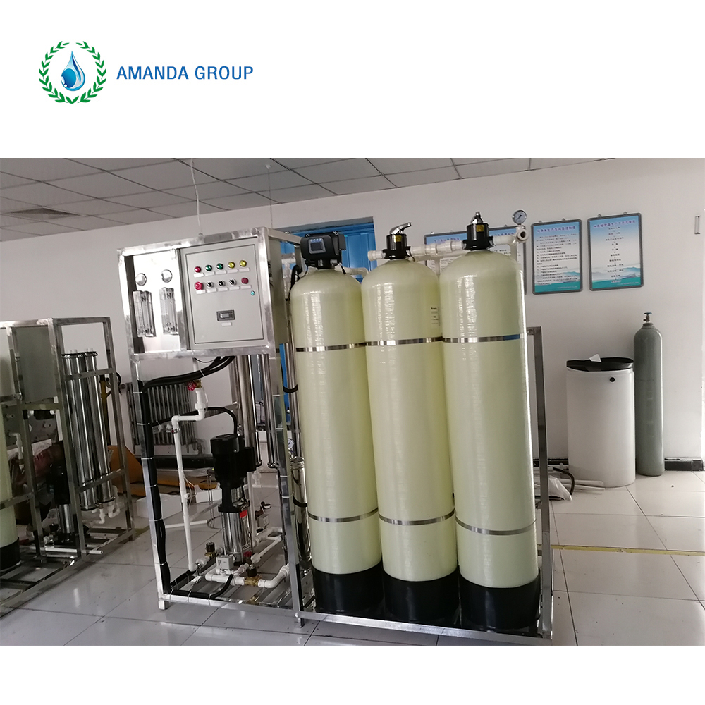 RO water treatment machine for food and beverage industry