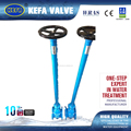 AWWA C509 Rubber Gate Valve with extension stem