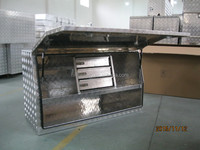 Aluminium Truck Tool Box with Drawers