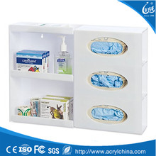 Empty cheap acrylic glove gift box price