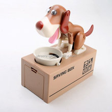 My Dog Piggy Bank - Robotic Coin Eating Munching Toy Money Saving Box