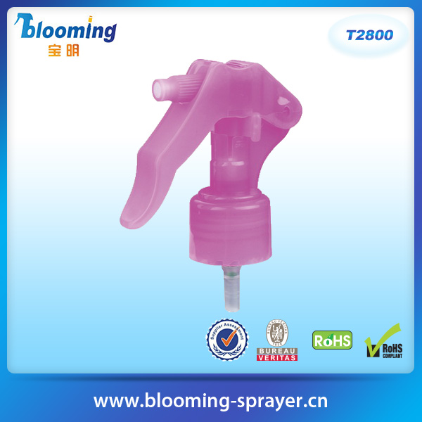 plastic trigger sprayer bottle mini perfume pump sprayer solvent sprayer