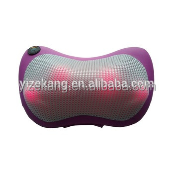 Car and Home Seat Back Massage Cushion,Shiatsu Massage Pillow
