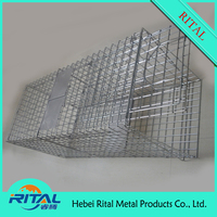 folding wild animal trap cage from china