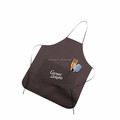 2016 hot sale polyester cooking apron with front pocket for kitchen, custom logo and design