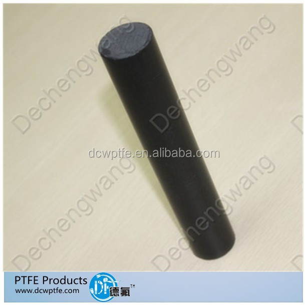 Enhanced PTFe teflon filled rods virgin black ptfe tube products