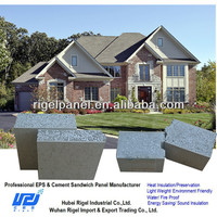 Masonry walls materials and construction Foam&Cement Sandwich Wall Panel