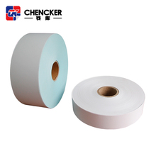 Promotional white thermal self adhesive sticker paper rolls