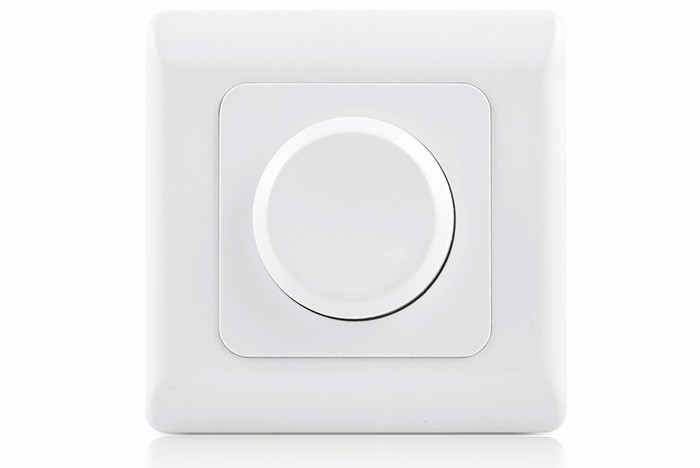 ivory white ABS designed touch panel 0-10v led dimmer switch