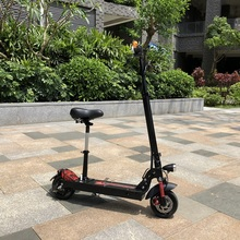 Adults 48V 10.4Ah lithium battery 8.5inch off road stand up two wheel electric scooter with seat