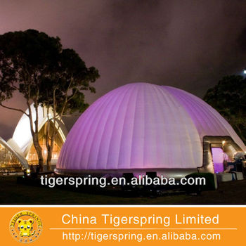 lighted dome tents from factory