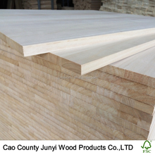High Quality Solid Paulownia Wood Panels