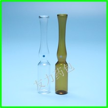 1ml clear color point type C glass ampoule