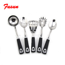 Amazon hot selling high quality utensils kitchen stainless steel soup spoon