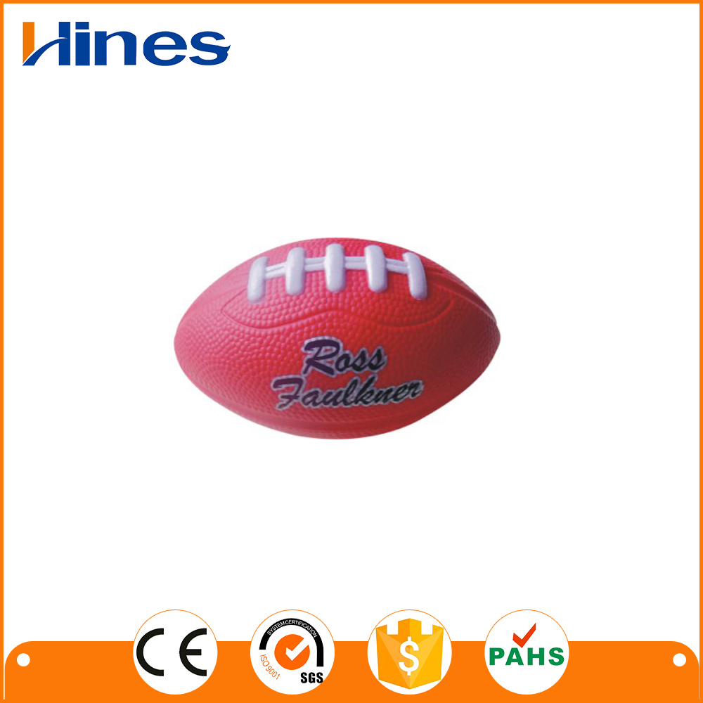 pu material squeeze rugby ball hop bouncing ball for kids