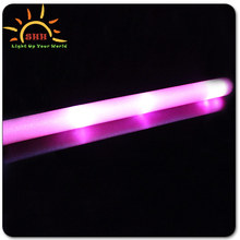 2015 Logo Branded Led Glow Foam Sticks For Party/night Club/concerts