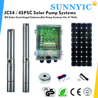 High-efficiency Solar Water Pump systems With Brushless DC Motor, JCS4-5.0-128