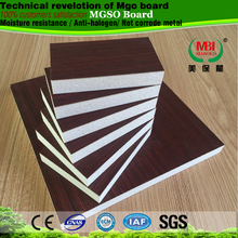 anti-moisture anti-mildew hpl mgo sulphate composite board used for office partition table home partition furniture