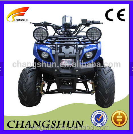 Powerful motor electric quad ATV with differential mechanism and 4 seater for kids
