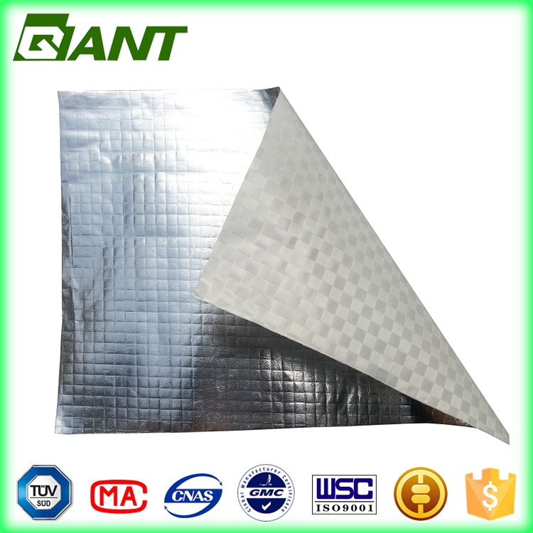 aluminum foil woven fabric flameproof sound absorbing water resistant heat insulator