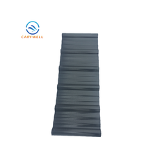 ASA Coated Corrugated Polycarbonate Shed Roofing Sheets Material