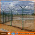 Y post razor barbed wire airport fence