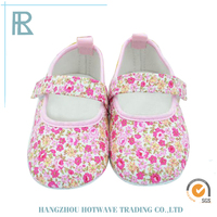 Factory Sale Various Widely Used Soft Canvas Baby Shoe