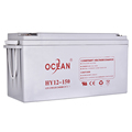 Ocean long service life 12V 150ah sealed lead acid battery