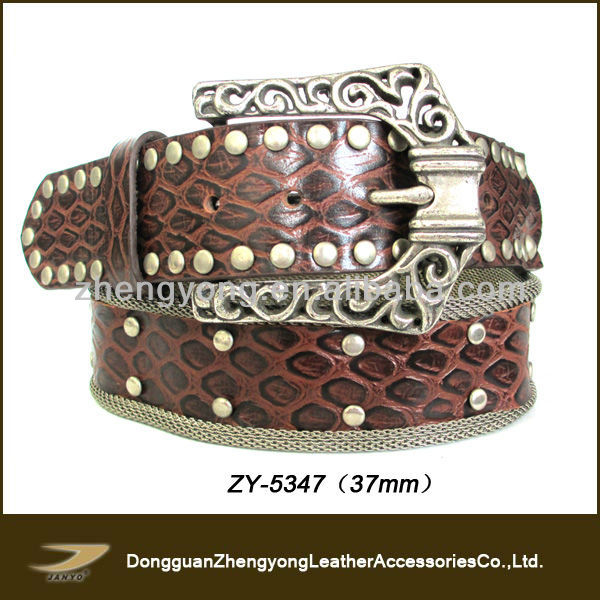 2013 Ladies studs with iron wire indian waist belt