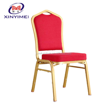 top class hotel used metal banquet chair seat cushions wholesale