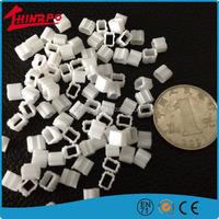 Wholesale white color mini silicone components/small silicone parts for deaf-aid