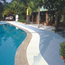 china cheap glazed ceramic swimming pool tile