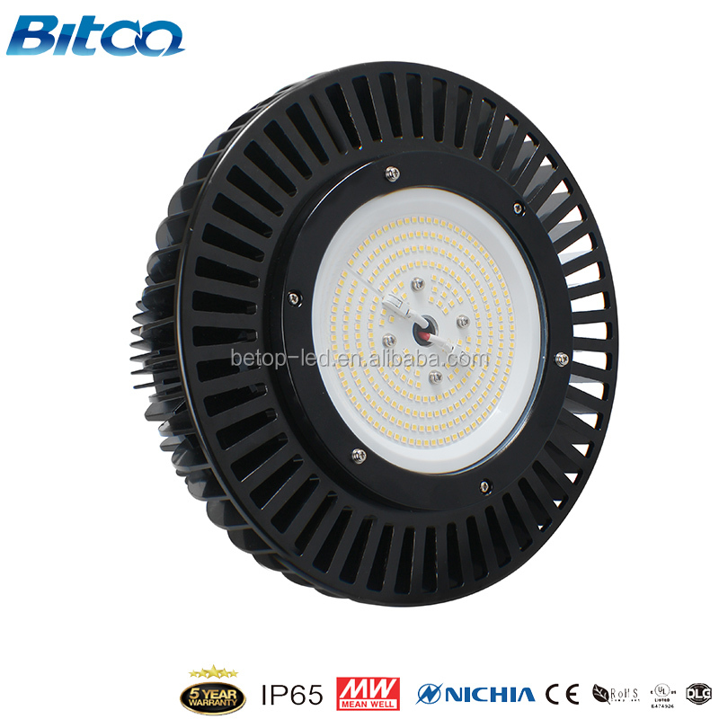 high quality 200w dlc ufo led high bay for replacement light
