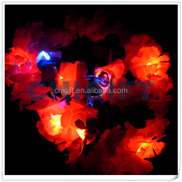 Alibaba Express Decorative Artificial Flower with Light