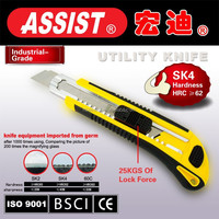 Easy cut auto loading SK4 material utility knife blade 18mm professional utility knife cutter