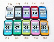 waterproof case 10pcs/lot,redpepper case for samsung Galaxy S3,100% waterproof for SIII.with red pepper retail package.free ship