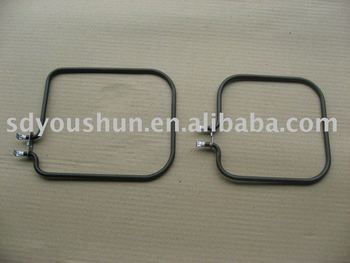 tubular heating element for toaster