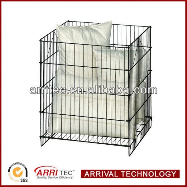 Square Wire Dump Bin Display Rack